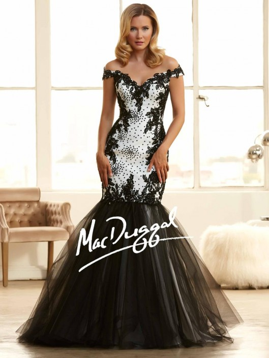 Mac Duggal 65025H High Fashion Ball Gown: French Novelty