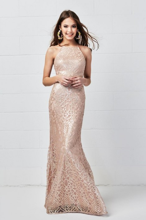 1f1d646d869 Wtoo 651 Dynamic Sequin Bridesmaid Dress  French Novelty