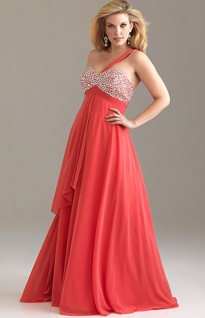 2012 plus size prom dresses night moves plus flowy dress for Plus size flowy wedding dresses
