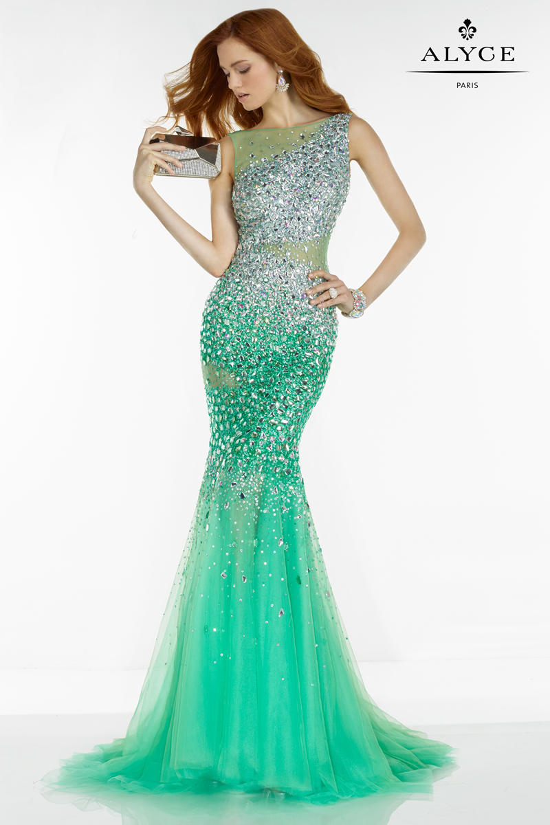 Alyce paris 6525 jeweled mermaid dress french novelty ombrellifo Image collections