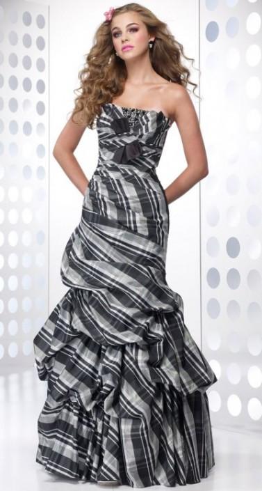 Taffeta Prom Gowns
