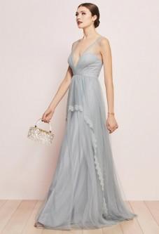 a20dd62ae4 Watters Lucy 6600 Romantic Deep V Bridesmaid Dress