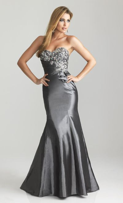 d4b94f2789f Night Moves 6662 Fit and Flare Taffeta Dress with Bow  French Novelty