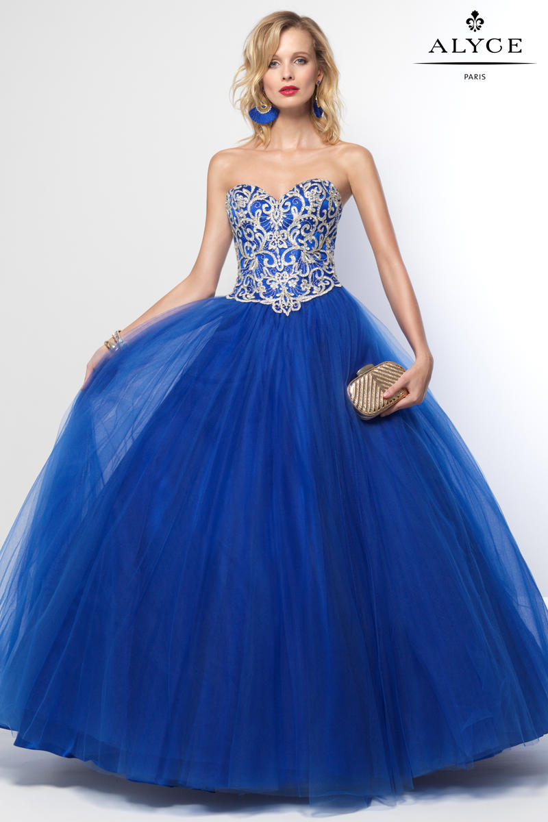 Alyce Paris 6667 Prom Ball Gown French Novelty