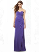 After Six 6698 Draped Jersey Bridesmaid Dress image