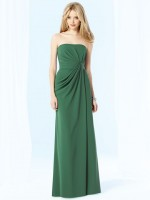 After Six 6700 Draped Bridesmaid Gown image