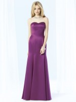 After Six 6701 Trumpet Bridesmaid Dress image