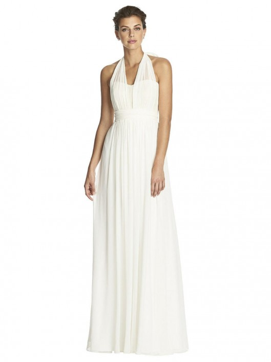 67656e60d16 After Six 6749 Convertible Lux Chiffon Bridesmaid Dress  French Novelty