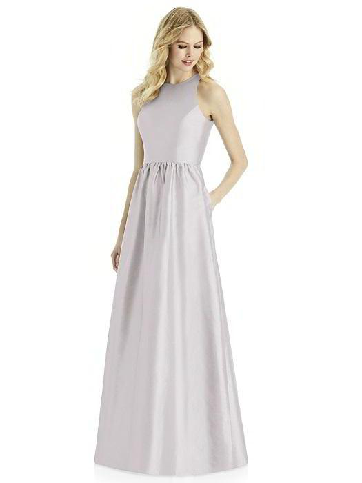 After Six 6771 Silk Shantung Bridesmaid Dress