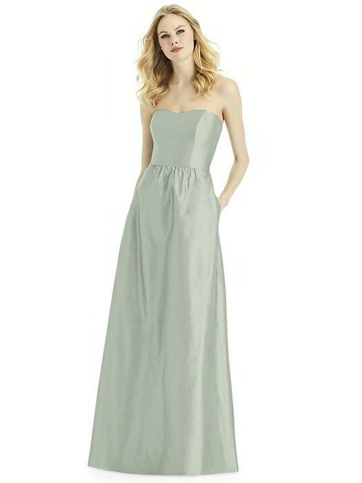 After Six 6772 Silk Shantung Bridesmaid Gown