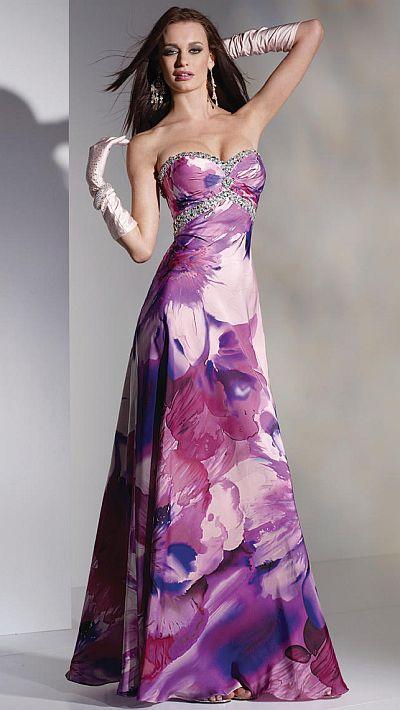 Alyce Designs White Prom Dress