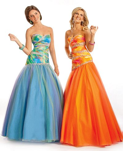 c18210d997 Party Time Ombre Prom Dress 6780  French Novelty