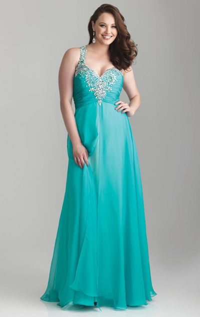 Night moves 6788w plus size empire formal dress french for Night dress for wedding night