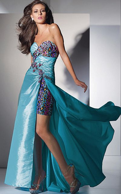 Alyce Paris Funky Leopard Print Prom Dress 6792 by Alyce Designs ...