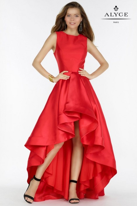 Alyce Paris 6826 High Low Prom Dress: French Novelty