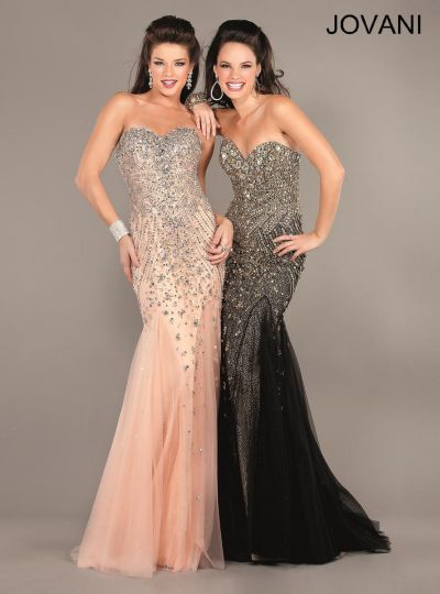 Jovani Goddess Mermaid Long