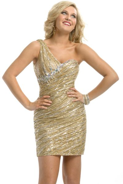 Gold Sequin Homecoming Dresses Sequin Homecoming Dress