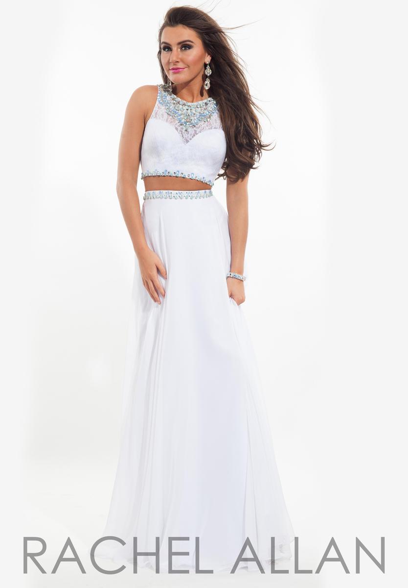 Rachel Allan 6889 2 Piece Formal Dress: French Novelty