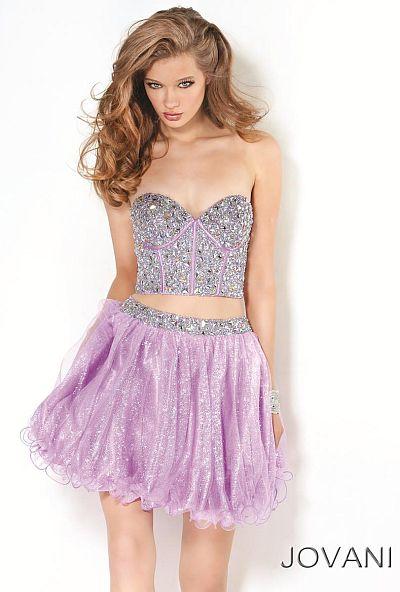Designer Homecoming Dress