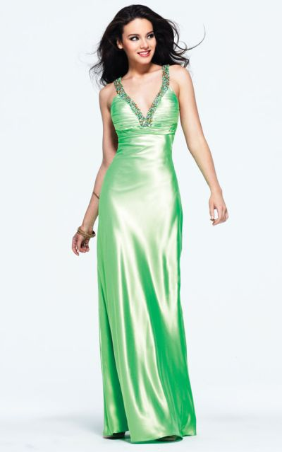 2012 Prom Dresses Faviana Low Back Prom Dress 6969 French Novelty