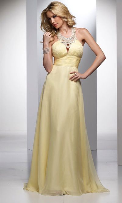 Alyce Designs Exclusive Prom Dress with Decorative Collar 700 ...
