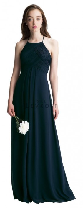 Levkoff by Bill Levkoff 7001 Halter Bridesmaid Gown: French Novelty