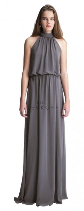 60884098fb67 #Levkoff by Bill Levkoff 7003 Blouson Bridesmaid Dress: French Novelty