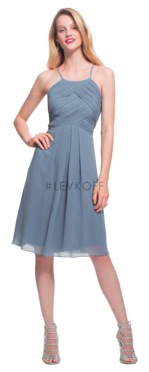 Levkoff By Bill Levkoff 7015 Short Bridesmaid Dress