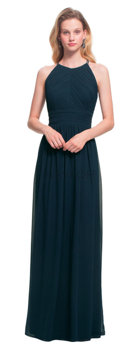 Levkoff By Bill Levkoff 7017 Keyhole Bridesmaid Gown French Novelty