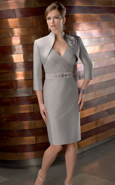 c1e495ca13 VM Collection Knee Length Slim Mothers Jacket Dress 70426 by Mori Lee   French Novelty