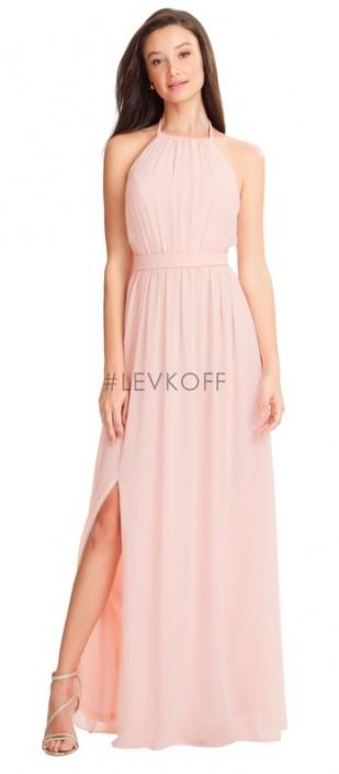 de4838436e4ed #Levkoff by Bill Levkoff 7053 Halter Bridesmaid Dress: French Novelty