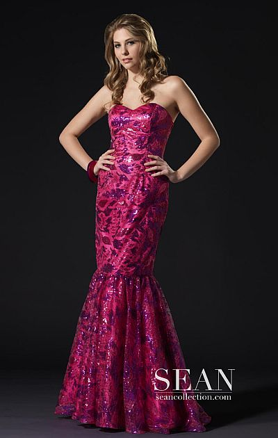 Fuchsia Mermaid Dress