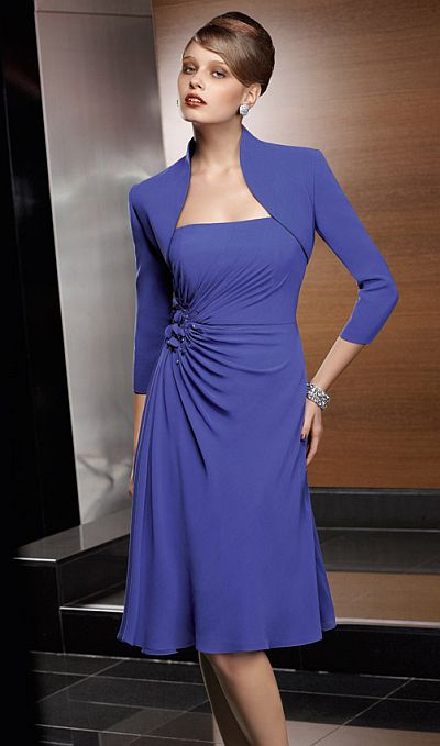 VM Collection Mother of the Bride Short Dress 70641 with Jacket ...