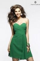 Faviana 7075A Short Chiffon Dress image