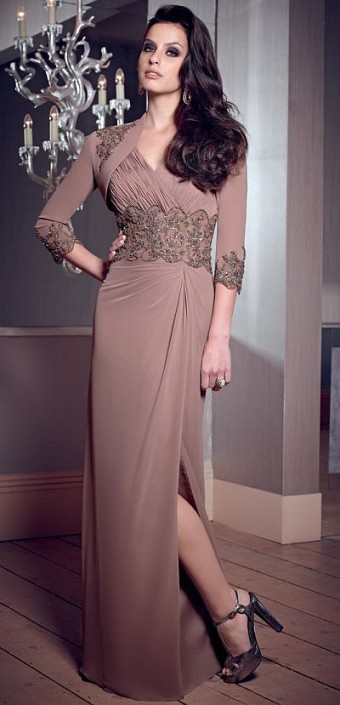 07b519f2c82 VM Collection 70807 Mothers Evening Dress  French Novelty