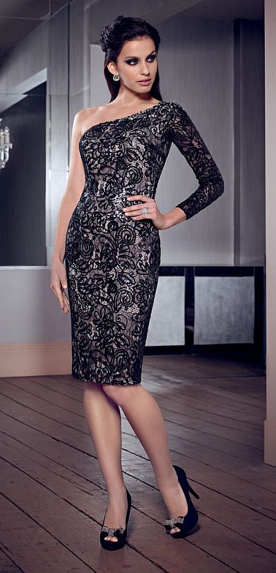 de1c976f46 VM Collection 70837 Lace Cocktail Dress  French Novelty