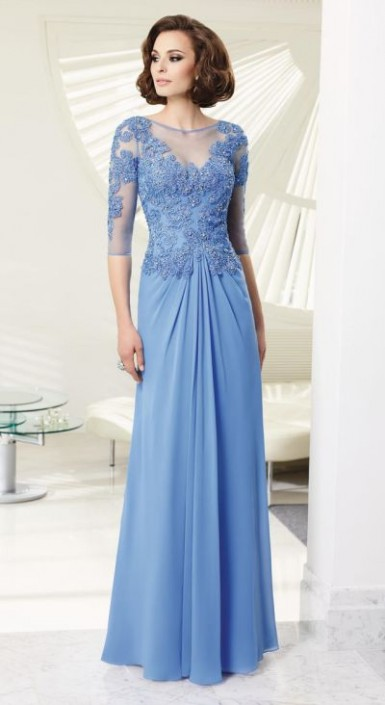 c7ea0b63ba VM Collection 70903 Chiffon Mother of the Bride Dress  French Novelty