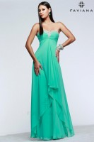 Faviana 7101 Layered High Low Gown image