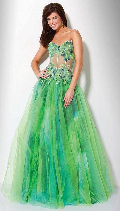 Designer Bridesmaid Dresses 2011 on Illusion Prom Dresses 2011 Jovani Designer Dress 71448 Image
