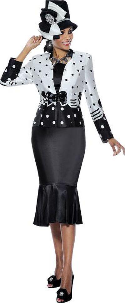 Terramina 7217 3pc Womens Church Suit French Novelty