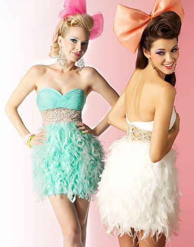 Baby Doll Prom Dresses