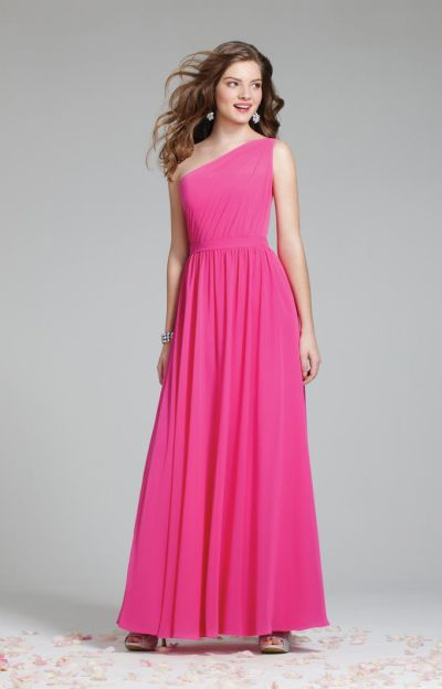 fe30f821272 Alfred Angelo 7243 One Shoulder Bridesmaid Gown: French Novelty