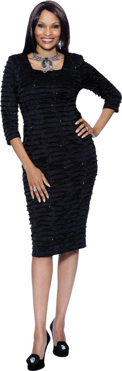 Elegant Women Church Suits Black  BlackWhite Stripe G4673  Blazer Style