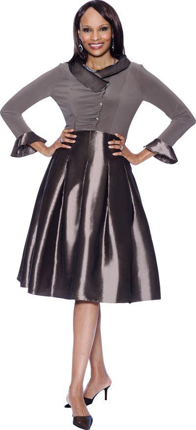Terramina 7310 Womens Church Dress: French Novelty