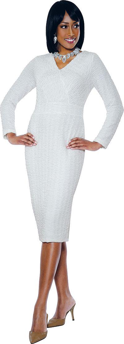 Terramina 7365 Long Sleeve Church Dress French Novelty