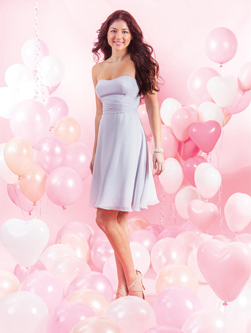 Alfred angelo 7386s short crossover bridesmaid dress french novelty ombrellifo Images