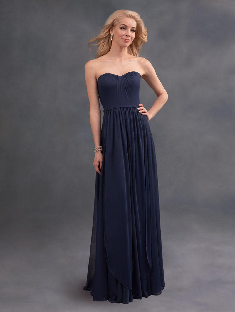 Alfred angelo 7395l convertible long bridesmaid dress french novelty ombrellifo Images