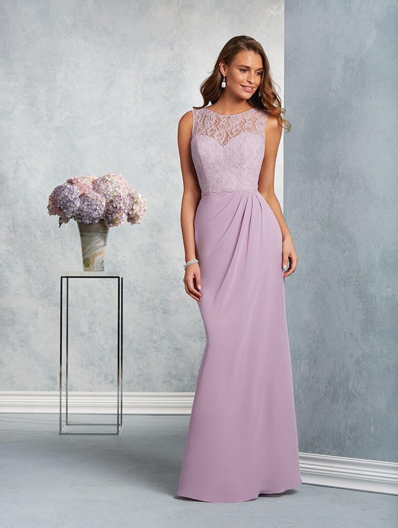 Alfred angelo 7407 lace yoke bridesmaid dress french novelty ombrellifo Image collections
