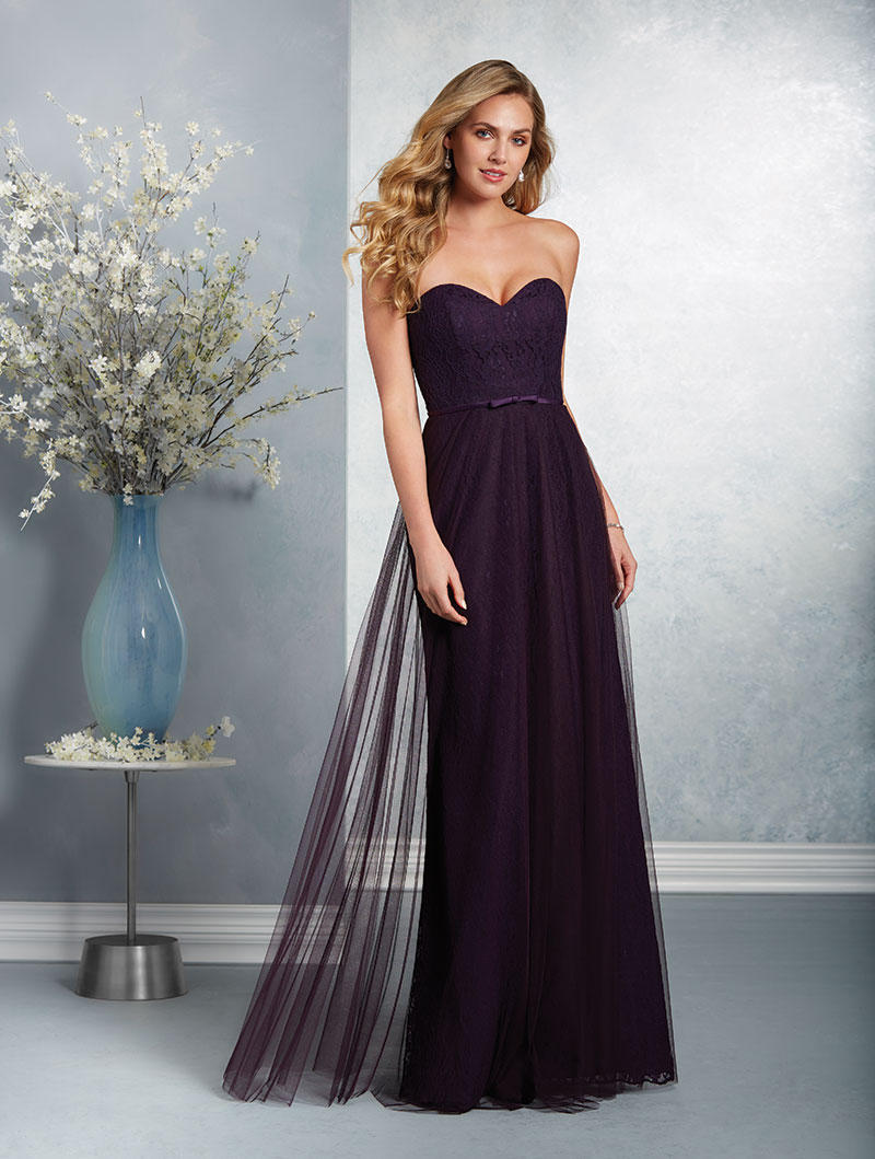 Alfred angelo 7409l long lace bridesmaid dress french novelty ombrellifo Image collections