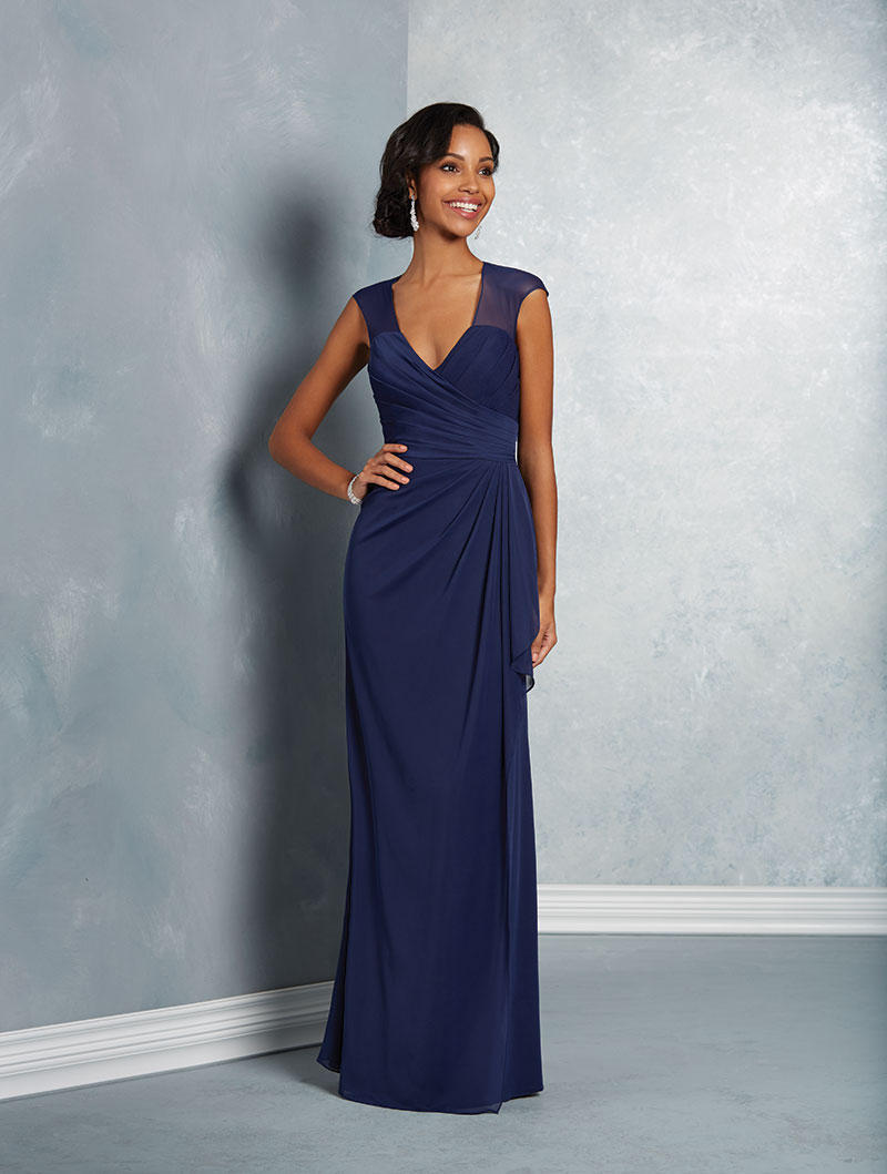 Alfred angelo 7412 sheer cap sleeve bridesmaid dress french novelty ombrellifo Image collections
